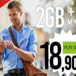 2 GB y 300 minutos para hablar al mejor precio en Hitsmobile