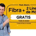 Jazztel te da fibra y dos líneas para móvil gratis durante todo el verano