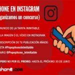 Nuevo concurso de Pepephone en Instagram