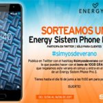 Apúntate al nuevo concurso Simyo y podrías ganar un Energy Sistem Phone Pro 3