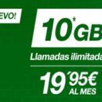 La tarifa de 19,95 de 4 GB de Amena te da 10 GB hasta septiembre
