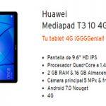 Simyo estrena en su tienda oficial la Huawei MediaPad T3 10