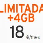 Llamadas ilimitadas y 4 GB por 18 euros en Simyo