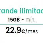 15 GB más llamadas ilimitadas por 22,90 euros en República Móvil