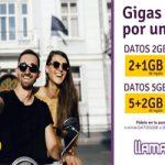 Adquiere un bono de datos de 2 o 5 GB y llévate 1 o 2 GB extra sin costo en Llamayá