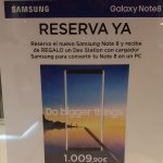 Promociones Samsung de Septiembre 2017: Descuentos y ofertas para Samsung Galaxy S8 + y Note 8