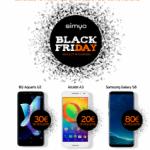Llega a Simyo el Black Friday con descuentos en móviles