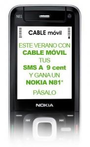 Captura de la imagen utilizada para la promoción de verano de Cable Móvil