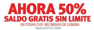 50% recarga extra gratis con Lebara Mobile