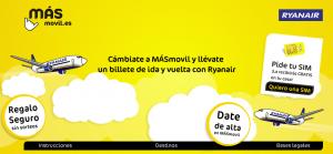 Promoción MásMovil y Ryanair