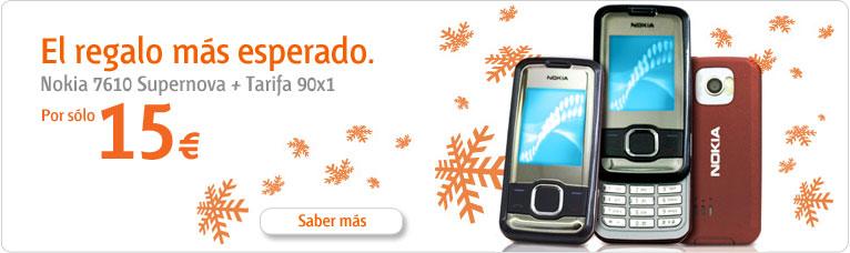 Nokia 7610 Supernova con Euskaltel