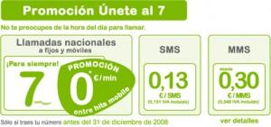 Promoción Únete 7 de Hits Mobile