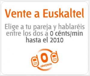 Promoción Vente a Euskaltel para parejas