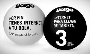 Yoigo internet para llevar prepago