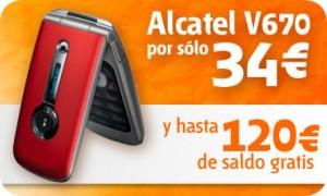 Alcatel V670 de Euskaltel