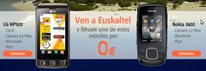 Móviles Euskaltel