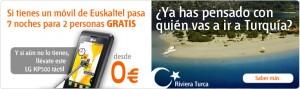 A Turquía con Euskaltel