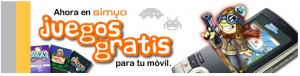 Promoción de Simyo de juegos gratis para el móvil