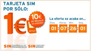 Simyo 1 euro