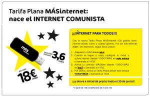 Imagen de la tarifa plana de MásMovil