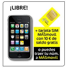 MÁSmovil ahora también vende el Iphone