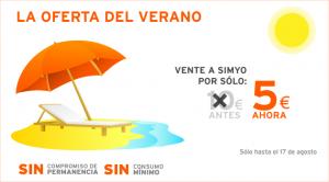 Promoción Simyo a 5 euros