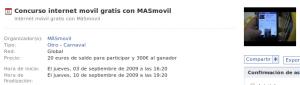 Concurso Internet Móvil gratis con MÁSmovil