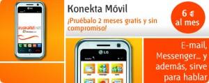 Konekta Móvil Internet Euskaltel