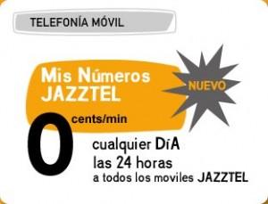 Bono mis números Jazztel