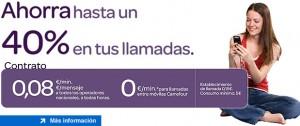 Carrefour Móvil baja sus tarifas a 8 céntimos/minuto
