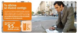 1GB de Euskaltel Konekta 1 GB
