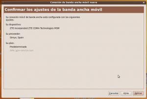Conexión definida para OMV en Ubuntu