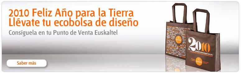 Bolsa de la compra gratis en los puntos de venta Euskaltel