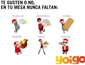 Imagen del Christmas de Yoigo