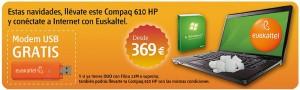 Compaq 610 de HP con Euskaltel