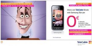 Con Telecable Samsung Star gratis