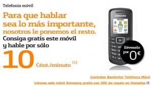 30 euros en llamadas gratis con Bankinter Móvil