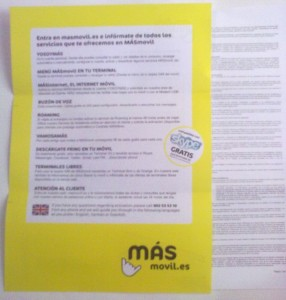Glosario y contrato MÁSmovil
