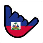 Logo MÁSmovil teñido de los colores de Haití