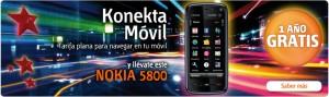 Nokia 5800 gratis con Euskaltel