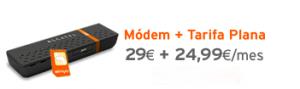 Módem Alcatel X060 de Simyo por 29 euros