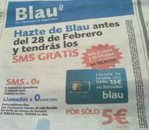 Oferta de Blau y Telecor